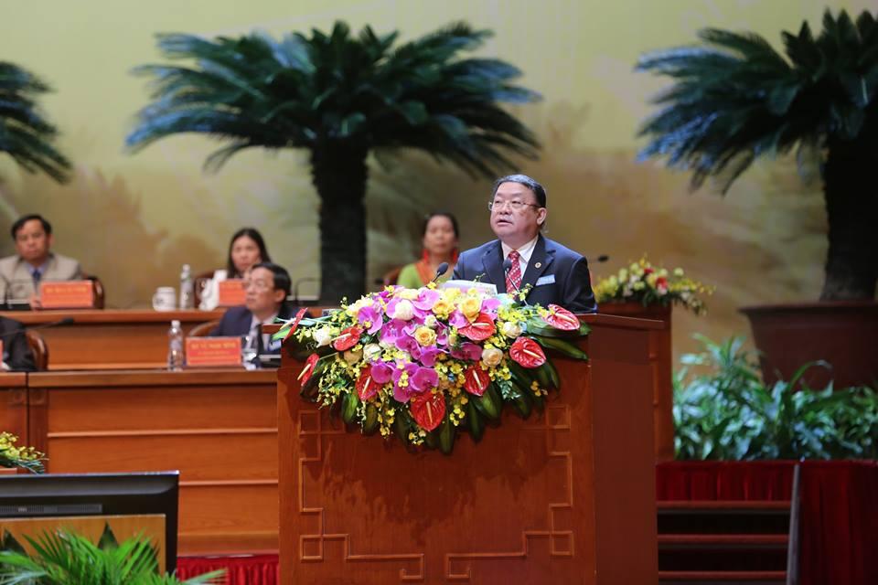 Đồng chí Thào Xuân Sùng tái đắc cử Chủ tịch Ban Chấp hành Trung ương Hội NDVN